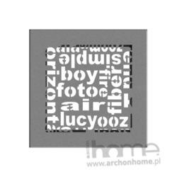 Kratka ABC granito 17x17