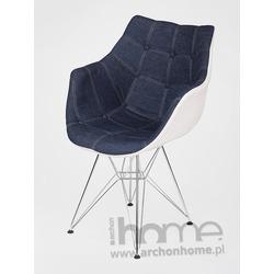Krzesło Emaus jeans – inspirowane Dar
