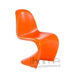 Krzesło Balance pomarańczowe - inspirowane Panton Chair
