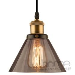 Lampa New York Loft 1 smoky wisząca