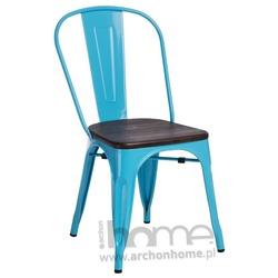 Krzesło Paris Wood niebieski jesion