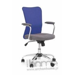Fotel obrotowy ANDY niebieski