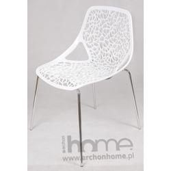 Krzesło Cepelia białe - inspirowane projektem Caprice
