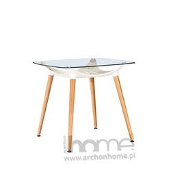 MODESTO stół HIDE SQUARE biały