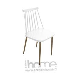 MODESTO Krzesło RIBS białe