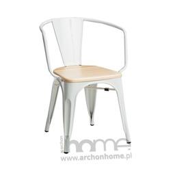 Krzesło Paris Arms Wood jasny zielony jesion