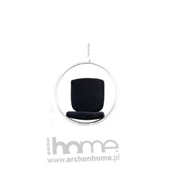 Fotel Bańka czarny - inspirowany  Bubble Chair