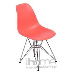 Krzesło Socrates dark peach chrom
