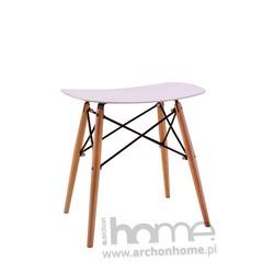 MODESTO stołek BORD biały