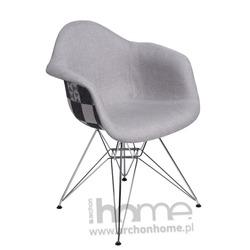 Krzesło EMAUS DUO szare patchwork