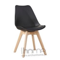 MODESTO Krzesło NORDIC czarne