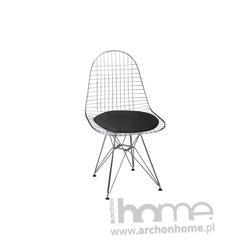 Krzesło Net czarne - inspirowane Wire Chair