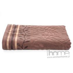 Ręcznik STELLA brązowy 70x140