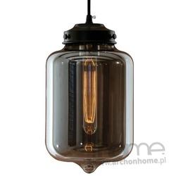 Lampa London Loft 2 smoky wisząca