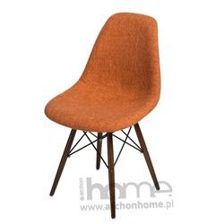 Krzesło Socrates DUO pomarańczowo szare dark