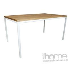 Stół Modern classic 160 olejowany biały