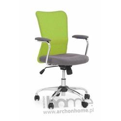 Fotel obrotowy ANDY zielony