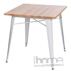 Stół Paris Wood biały jesion