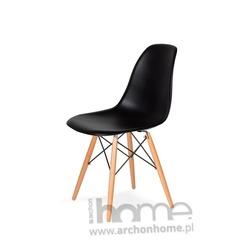 MODESTO krzesło SOCRATI DSW czarne