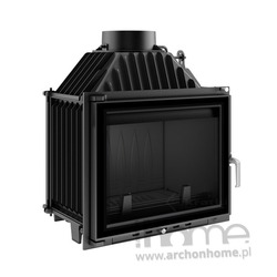 Kominek Maja system glass 12 kW