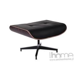 Podnóżek Vip czarny, heban - inspirowany Lounge Chair