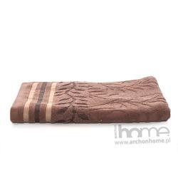 Ręcznik STELLA brązowy 50x90