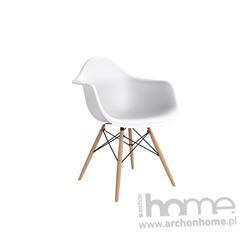 Krzesło Endo białe - inspirowane DAW