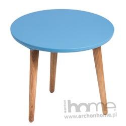 Stolik Bergon średni niebieski