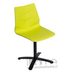 Fotel obrotowy Leaf one limonkowy