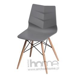 Krzesło Leaf DSW szare