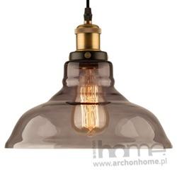 Lampa New York Loft 3 smoky wisząca