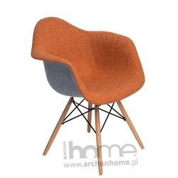 Krzesło ENDO DUO pomarańczowo szare