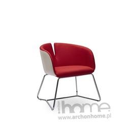 Fotel PIVOT czerwony