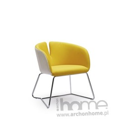 Fotel PIVOT żółty