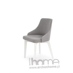 Krzesło TOLEDO szaro-białe