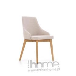 Krzesło TOLEDO beżowy-dąb miodowy