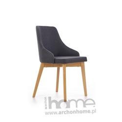 Krzesło TOLEDO grafit-dąb miodowy