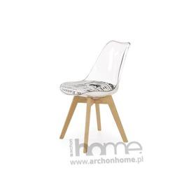 Krzesło NORD buk gazeta