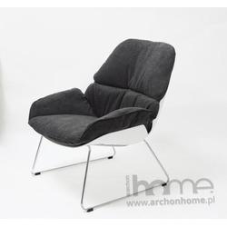 Fotel Neo grafitowy