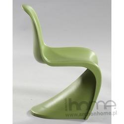 Krzesło dziecięce Balance Junior zielone - inspirowane Panton Jr