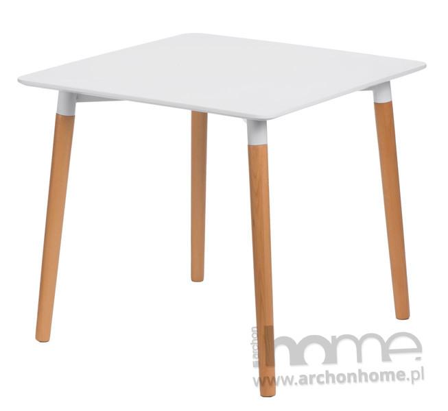 Stół Copine 80x80 biały