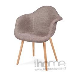 Krzesło PLUSH ZEBRA beżowa