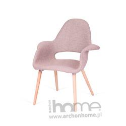 Krzesło A-SHAPE zebra beżowa