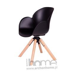 Fotel obrotowy FLOWER czarny