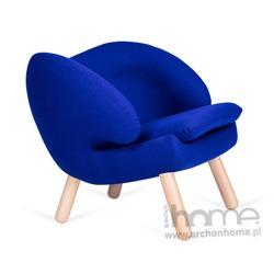 Fotel FLAMINGO niebieski