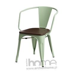Krzesło Paris Arms Wood zielony sosna