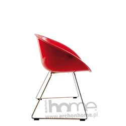 Krzesło Cube czerwone - inspirowane Gliss