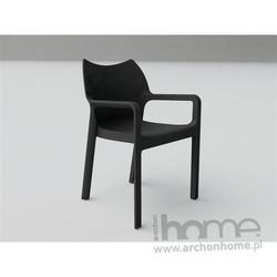 Krzesło Dionisio czarne
