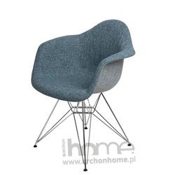Krzesło EMAUS DUO niebiesko szare