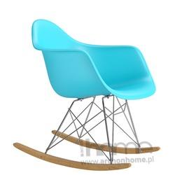 Krzesło BUJAK niebieskie - inspirowane RAR